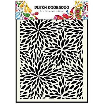 Dutch Doobadoo A5 Mask Art Stencil - Floral Waves 470.715.116
