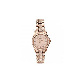 Sekonda Ladies Stone Set Rose Gold Bracelet Watch 2034