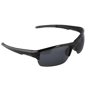Gafas de sol Hombres Polaroid Sport - Negro con brillenkokerS328_4 gratis