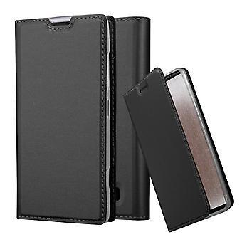 Estojo cadorabo para tampa da caixa do Nokia Lumia 520 - estojo telefônico com fecho magnético, função de suporte e compartimento do cartão - Caso de proteção da caixa Caso De proteção Livro Estilo dobrável