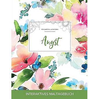 Maltagebuch fr Erwachsene Angst Schildkrten Illustrationen Pastellblumen by Wegner & Courtney