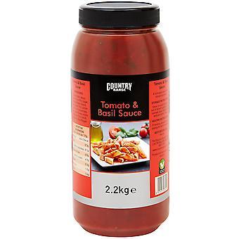 Country Range Tomato and Basil Sauce