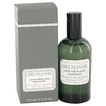 GREY FLANNEL by Geoffrey Beene Eau De Toilette Spray 4 oz / 120 ml (Men)