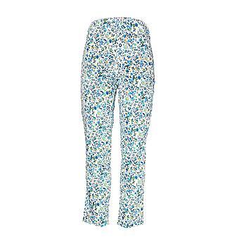 C. Wonder Women's Pants Nantucket Floral Print White A291079