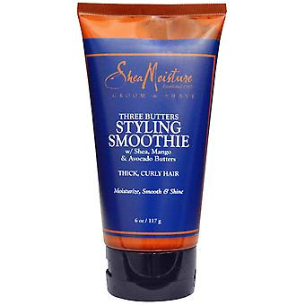 Shea Moisture Men Three Butters Styling Smoothie 117g