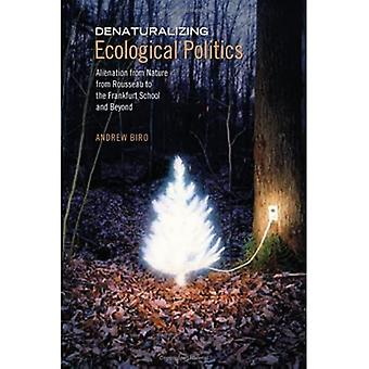 Denaturalizing Ecological Politics: Alienation from Nature from Rousseau to the Frankfurt School and Beyond