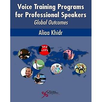 Voice Training Programs for Professional Speakers - Global Outcomes by