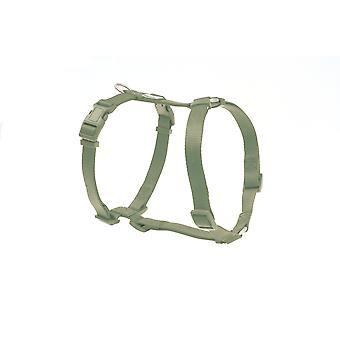 Freedog Basic Nylon sele grön Salvia
