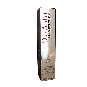 Dior Addict Lacquer Plump 537 On Fire 0.18 OZ