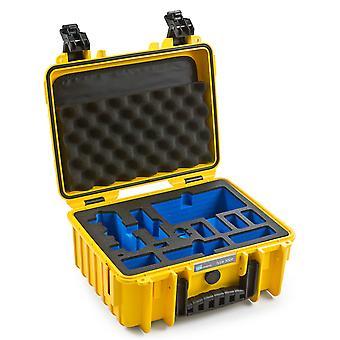 B & W kopteri tapauksessa tyyppi 3000 DJI Mavic Air Fly Lisää Combo, keltainen vaahto lisää