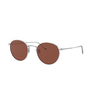 Oliver Peoples Coleridge Sun OV1186S 5036C5 Silver/Rosewood Sunglasses