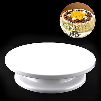 Beemsk Plastic Cake Stand  Cake Turntable Diy Flower  Baking Tools