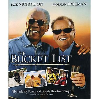 Bucket List [BLU-RAY] USA import