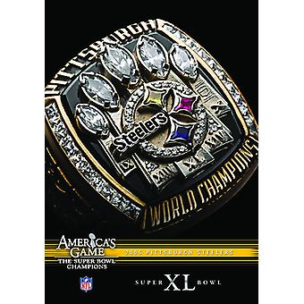 NFL America's Game: 2005 Steelers (Super Bowl Xl) [DVD] USA import