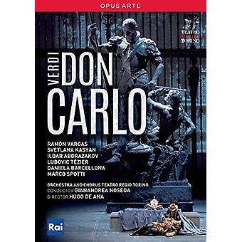 Don Carlo [DVD] USA import