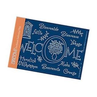 Groovi Welcome Framer A6 Plate