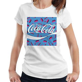 Coca Cola Platz Retro 80er Jahre Frauen's T-Shirt