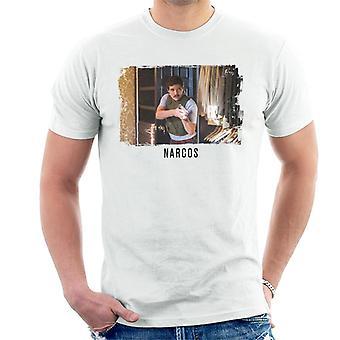 Narcos Agent Pena Shot Men's T-Shirt