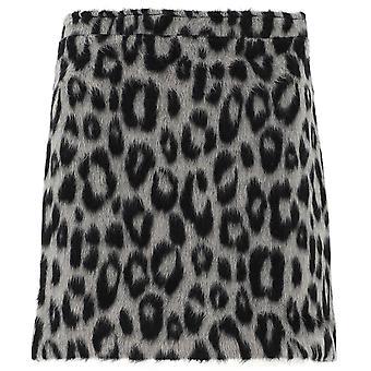 Andamane Q02g0451206natuurlijke Vrouwen's Leopard Polyester Rok