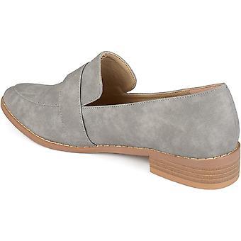Brinley Co Women's Shoes Rossy Fabric أشار إلى متسكعي الـ(متسكعون)