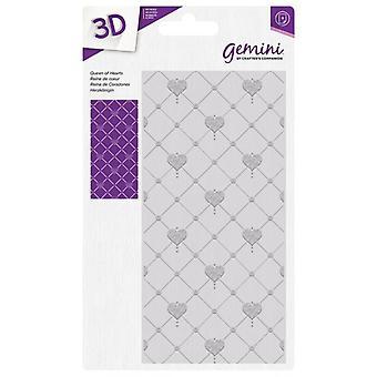 Gemini Queen of Hearts 3D preging mappe