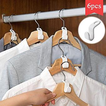 Plastic Magic Extension Space Saving Coat Hook Closet Hanger Rack Extension For Wardrobe