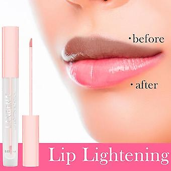 Lip Lightening Serum Lip Plumper, Brillo Labial Líquido Reduce Pigmentación