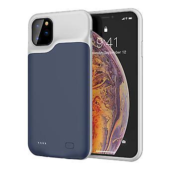 Stoff zertifiziert® iPhone 11 Slim Powercase 6000mAh Powerbank Fall Ladegerät Batterie Abdeckung Fall blau