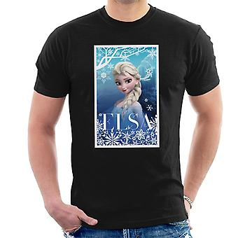 Disney Frozen Elsa Queen of Ice Juliste Design Miehet&s T-paita