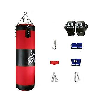 Empty Boxing Punching Bag