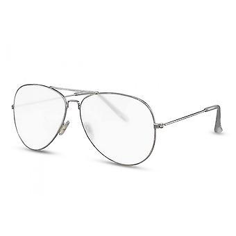 نظارات شمسية المرأة الطيار Cat.2 الفضة / شفافة (CWI2128)