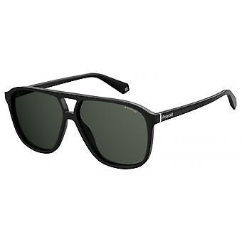 نظارات شمسية للجنسين 6097/S807/M9 الطيار الأسود / الرمادي