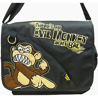 Messenger Bag - Family Guy - Evil Monkey Negru Nou 166049