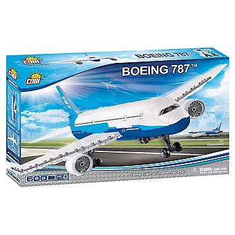 Cobi Boeing Dreamliner Jet 787 Plane Kids Blocuri Cărămizi 600Pc Compatibil Varsta 5 +