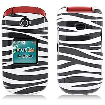 Hard Snap-On Case for Samsung Chrono 2/Contour 2 R270 - Zebra