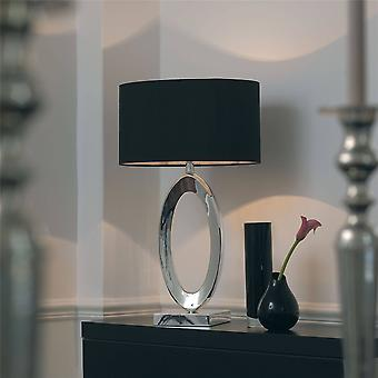 Endon Nerino - 1 Light Table Lamp Metal med skugga, B22