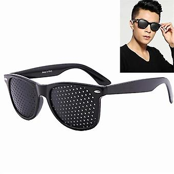 Vision Care Wearable Correctable Improver Stenopeic Pinhole Pin Hole Occhiali- Anti Fatigue Eye Protection Oculos De Grau