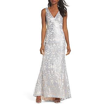 Eliza J | Sequined Mermaid Evening Dress