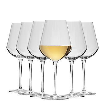 Bormioli Rocco Inalto Uno Medium Wine Glasses Set - 470ml - Pack of 6