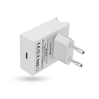 Charger USB type C 18W Power Delivery Quick Charge Swissten White