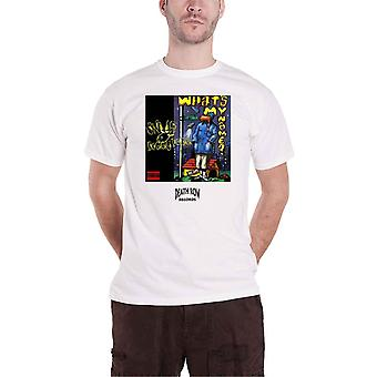 Death Row Records T Shirt Snoop Dogg nieuwe Officiële Mens White