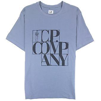 CP Company C.P. Company C.P Block Man T-Shirt Lilac