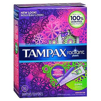 Tampax Radiant Tampons Régulier Super, 14 Chacun