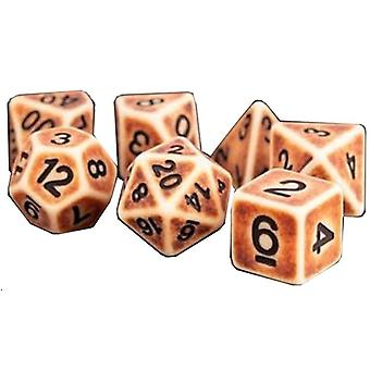 MDG Polyhedral Resin Dice Set