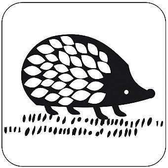 Hedgehog Rubber Stamp Craft Scrapbooking Handmade Gift Tags Cards
