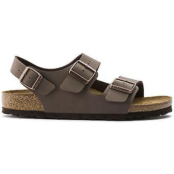 Birkenstock Milano Mocca sandaler - Tætsiddende