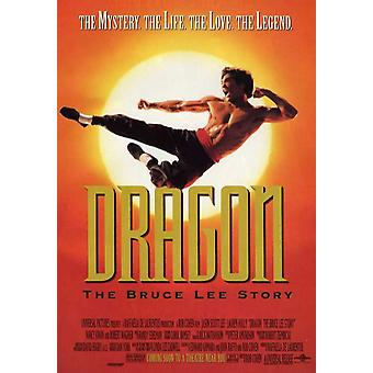 Dragon The Bruce Lee Story Movie Poster (11 x 17)
