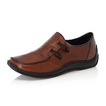 Rieker L1762-24 Celia Casual Slip On Shoes In Brown