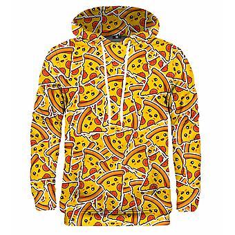 Mr Gugu Miss Go Pizza mönster hoodie
