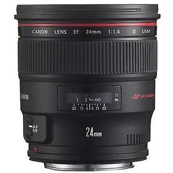 Canon ef 24mm f/1.4l ii usm wide angle lens - fixed
